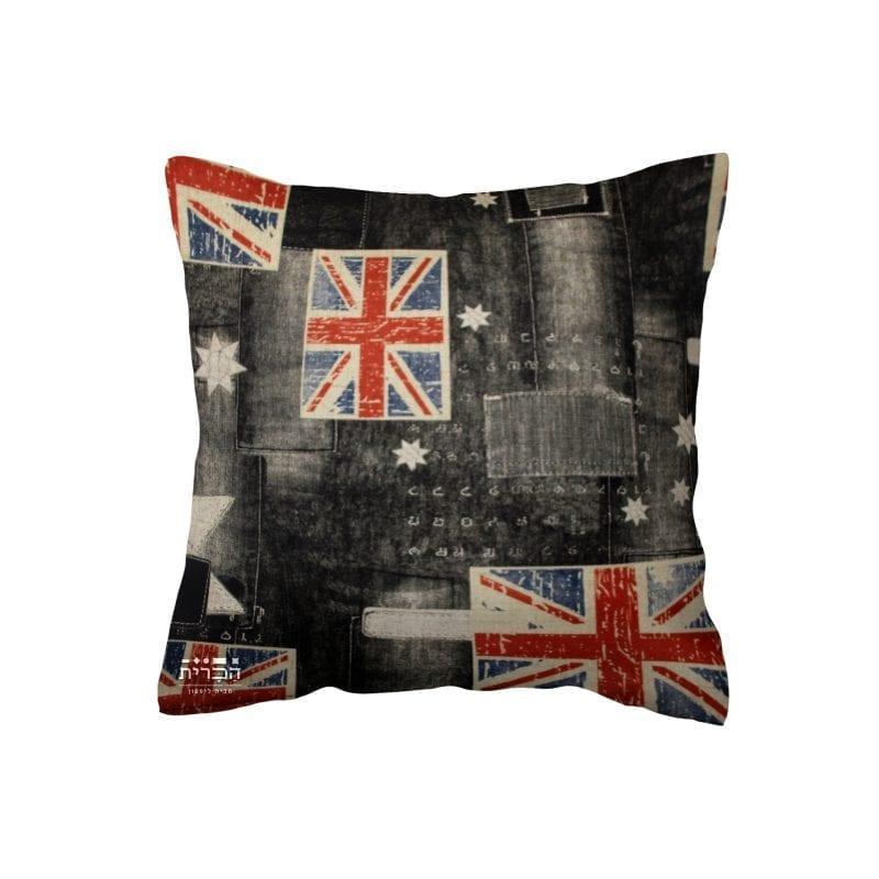 כרית נוי דגל אנגליה וכובים